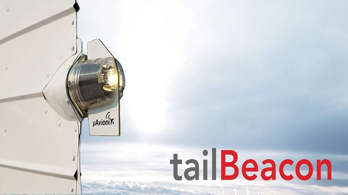 uAvionix launches TailBeacon