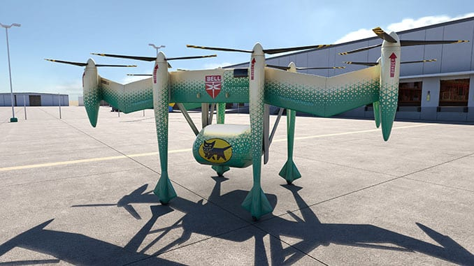 Bell, Yamato Team on eVTOL Logistics