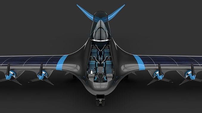 Hydrogen-Electric Passenger Aircraft