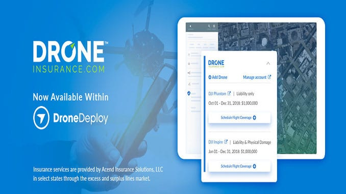 DroneDeploy Teams Up with REIN's DroneInsurance.com