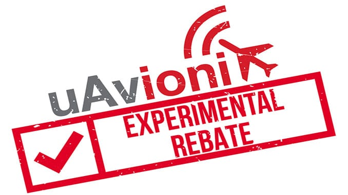 uAvionix Announces ADS-B Rebate Program for Experimental Products