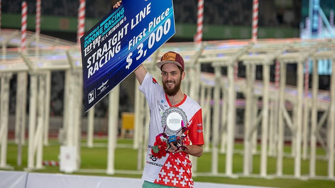 New Drone Speed World Record Set At The FAI World Drone Racing