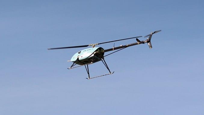 UAVOS new flight algorithm