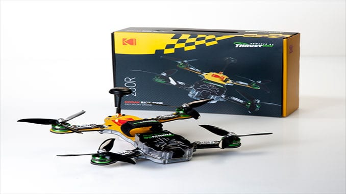 Thrust-UAV and Kodak Announce The KODAK RIOT 250R Pro Sport Drone Launch