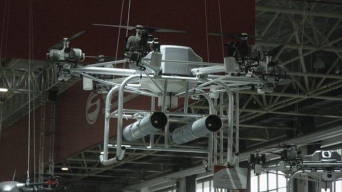 Airshow China 2018: Norinco Presents Strike-capable UAV Swarm Concept