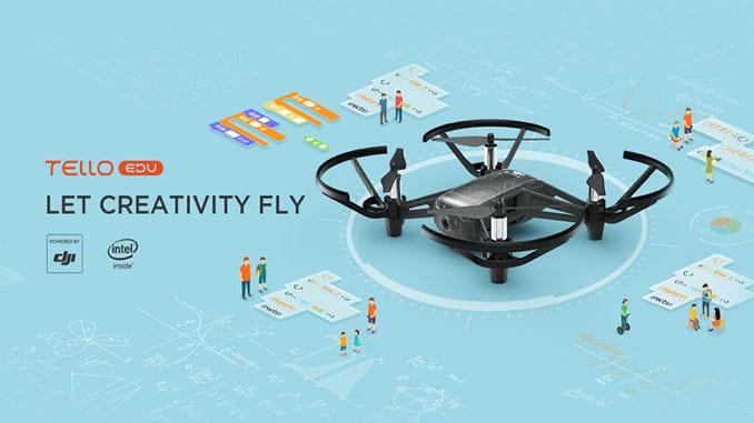 Announcing the new Tello EDU Drone