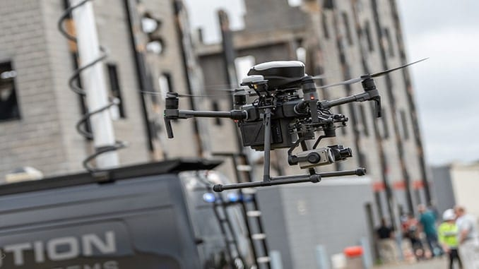 NYPD Launches Drone Program with Assistance of FLYMOTION
