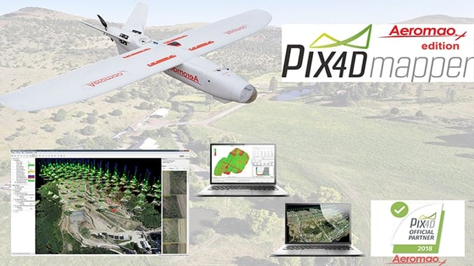 Pix4DMapper + Aeromapper Talon Fixed Wing BVLOS System For Less Than $16K USD