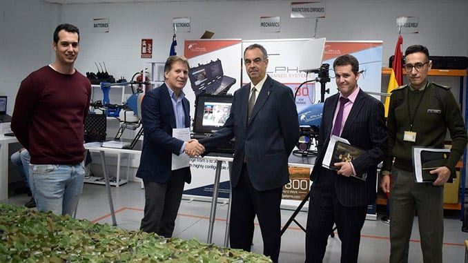 The Spanish Armed Forces Has Acquired Two Alpha 800 UAV Helicopters From Alpha Unmanned Systems