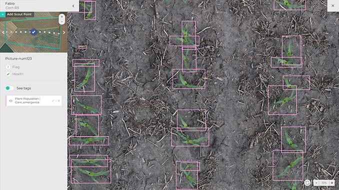 Taranis Launches Industry-First Automated Crop Emergence and Stand Count Solution