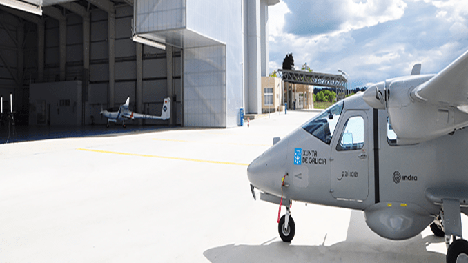 Indra Tests Its Optionally Piloted Targus Aircraft's Critical Systems