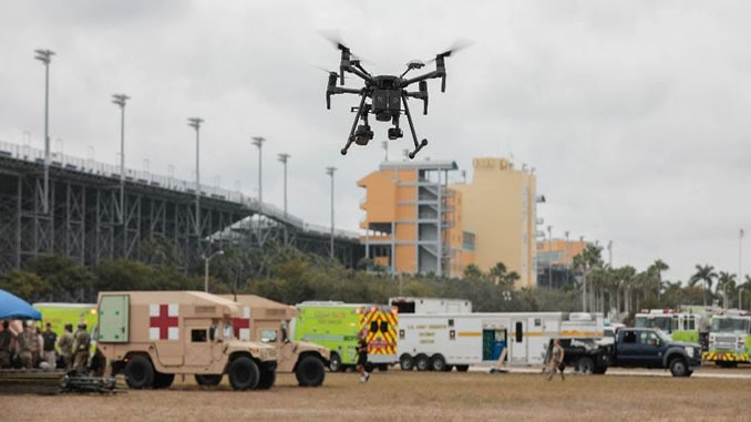 Airborne Response Supports U.S. Army National Guard, Miami-Dade Fire Rescue with Drones and Aerostats
