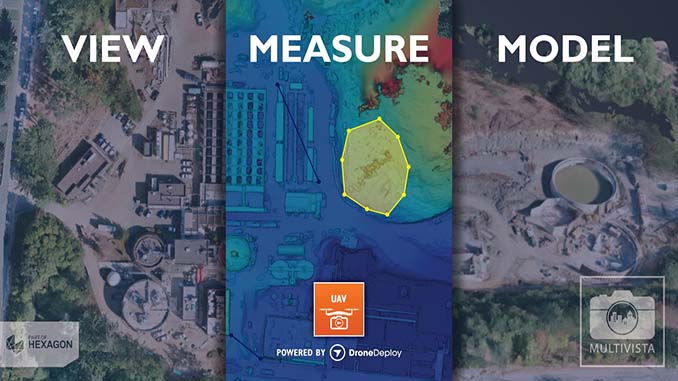 Multivista Announces DroneDeploy Partnership, Advanced UAV Mapping Services