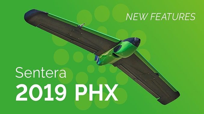 Sentera Announces Major Update to the PHX Fixed-Wing Drone