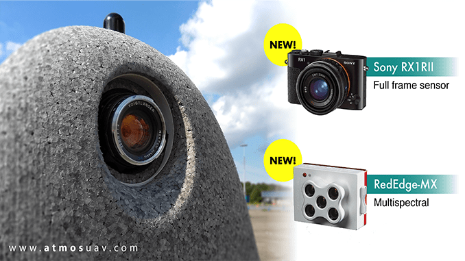 ATMOS UAV Expands Its Camera Options And launches New Software