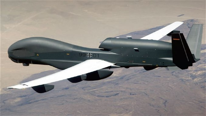 Canada Bids For Mothballed Prototype Euro Hawk Surveillance Drone From Germany