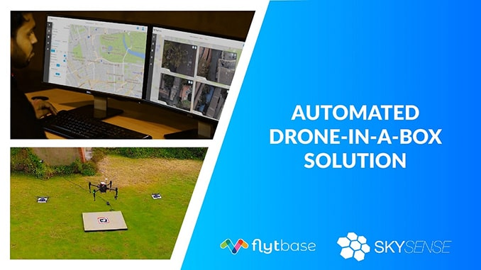 FlytBase and Skysense Partner to Bring Fully-Automated, Low-cost Drone-in-a-box Solution to Market