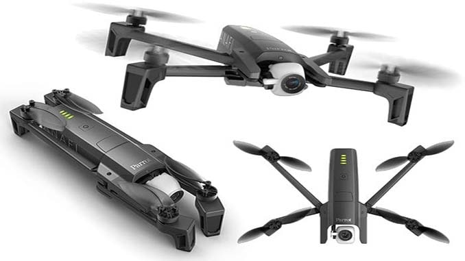 Review: Parrot Anafi 4K Drone Review - UASweekly com
