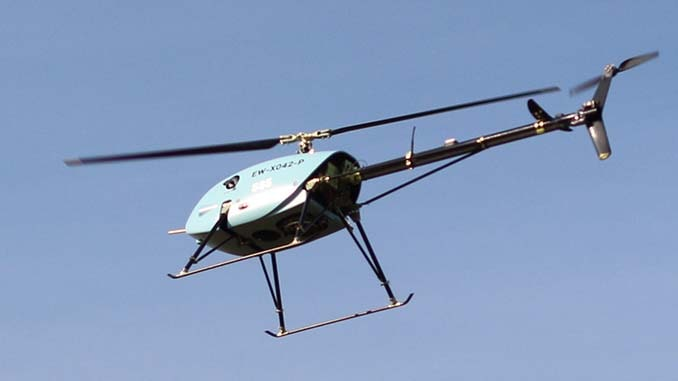 UAVOS tropicalized unmanned helicopter