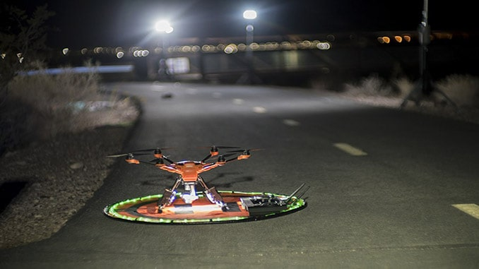 Using Drones to Map a Crime Scene