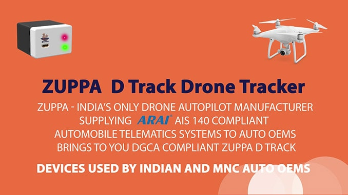 Zuppa Eyes Global CUAS Market With Launch of India's First NPNT Compliant Drone Tracker