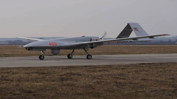 Ukraine Army Receives First Bayraktar Armed UAVs From Turkey