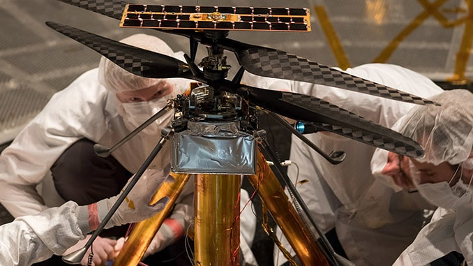 NASA's Mars Helicopter Completes Flight Tests At JPL