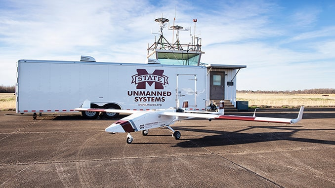 New TigerShark UAS Expands Capabilities Of MSU's Raspet Flight Research Laboratory