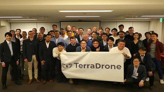Terra Drone's First Global Summit Attended by over 20 Countries