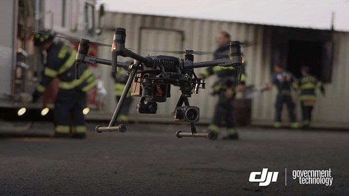Los Angeles Fire Department And DJI Collaborate To Advance Drone Technology For Public Safety Applications