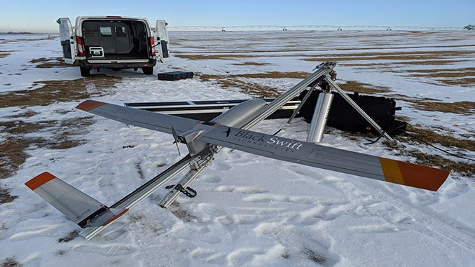 Black Swift Technology S2 UAS Chosen by the Institute of Arctic and Alpine Research to Support The East Greenland Ice-Core Project