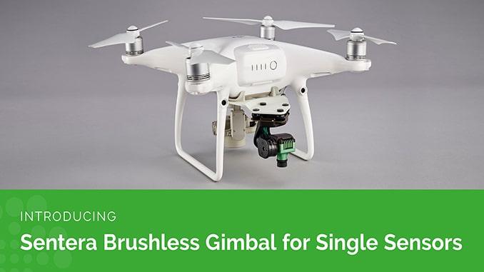 Sentera Adds Brushless Gimbal for Single Sensors on the Phantom 4 Pro V2.0