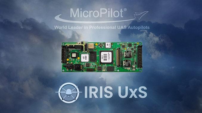 Kongsberg Geospatial IRIS UxS Fleet Control Station Integrated with MicroPilot Autopilots