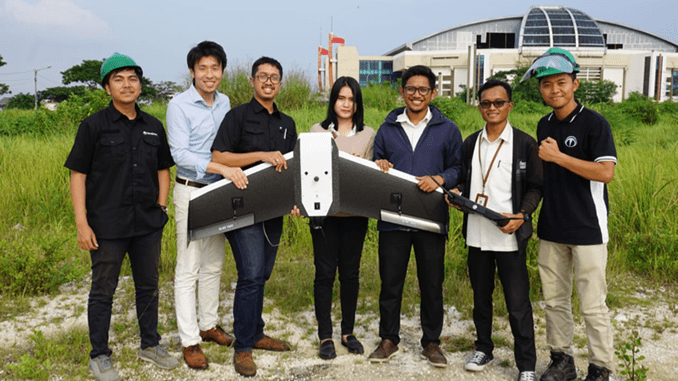 Terra Drone Indonesia and Central Research Institute of Electric Power Industry