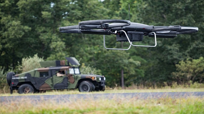 Knowledge Base: US Army Studying Drone Delivery Of Essential Supplies