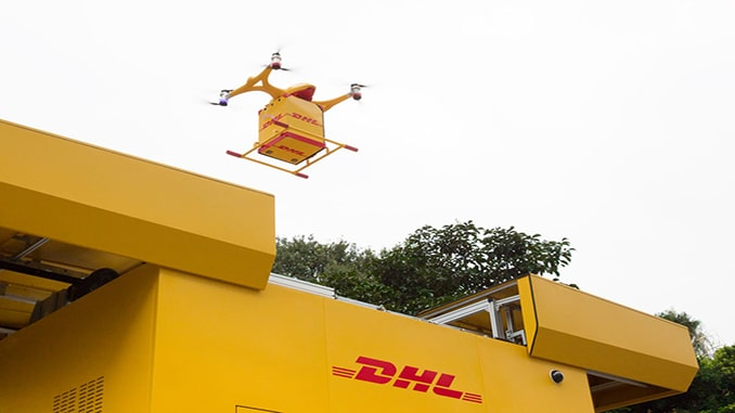 DHL Express Launches Fully Automated Drone Delivery In China
