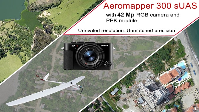 AEROMAPPER 300 & 42Mp Camera With PPK Bundle: Unrivaled Resolution And Accuracy