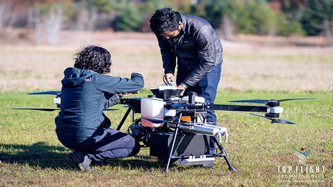 Aizawa Concrete Partners With Heavy Lift Long Range UAV Provider Top Flight Technologies