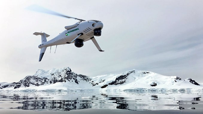Schiebel Camcopter S-100 Wins Norwegian Tender For UAS Deployment In The Arctic