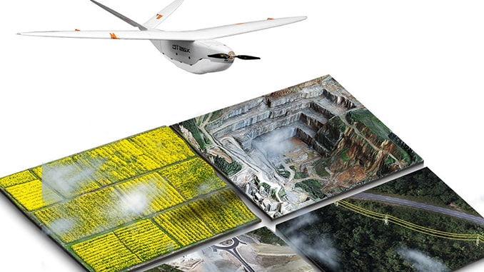 Delair introduces open payload version of long-range UAV