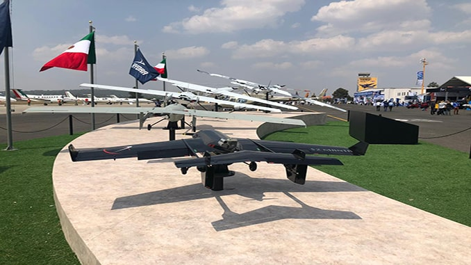 Hydra Technologies presented the evolution of its twin-engine unmanned systems