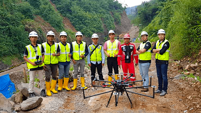 Terra Drone Indonesia Shows Construction Companies Benefits Of Aerial LiDAR Surveys