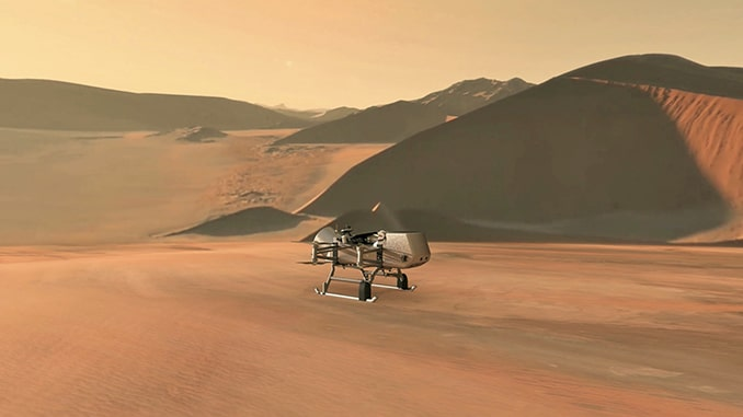 NASA Selects Flying Mission to Study Titan for Origins, Signs of Life