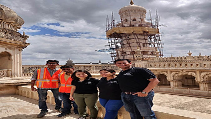 Terra Drone India undertakes digital preservation of 16th century monument
