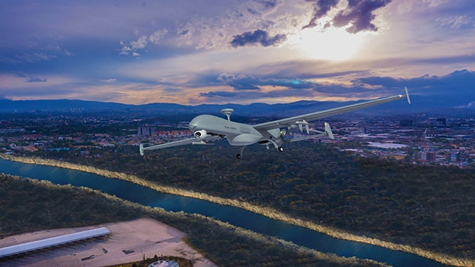 Israel Aerospace Industries (IAI) Unveils New Tactical UAV: The T-Heron