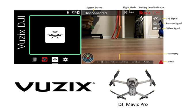 Vuzix Blade Smart Glasses Now Provide a Visual Hands-Free Assistant for DJI Drones