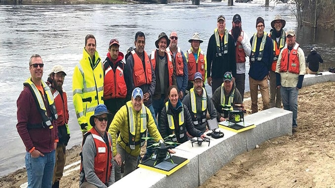 USGS, Scientists Test Drone-Based Stream Gauging at '2019 Aquatic Airshow'