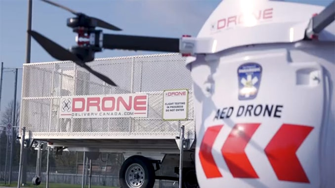 Drone Delivery Canada Successfully Completes Phase One of AED On The Fly Pilot With Peel Region Paramedics