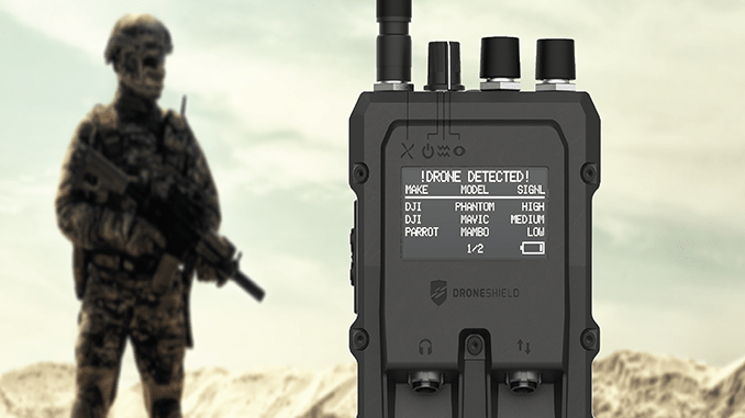 DroneShield Ltd  is pleased to announce that it has shipped the first order of RfPatrol