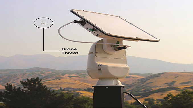 SpotterRF Receives Patent for the First Full Dome Counter Drone Radar